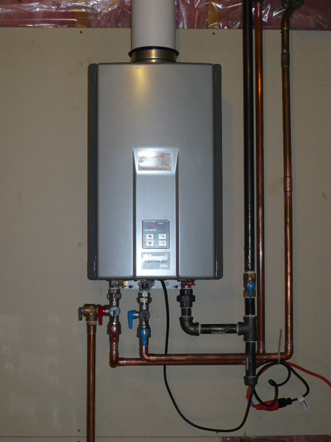 New Year, New Water Heater? It's a Tankless Water Heater For You?