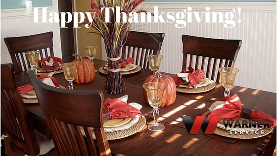 Happy Thanksgiving from All of Us at Warner