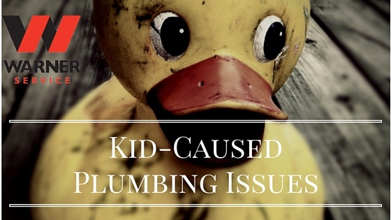 7 Kid-Caused Plumbing Catastrophes that We Know Too Well
